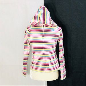 North face Girls hooded jacket sweater Sz L 14/16
